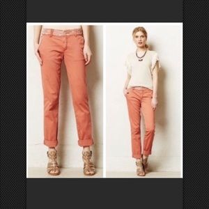 Anthro Pilcro and the Letterpress Hyphen Fit Pants